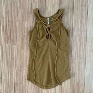 FP Lace Up Tank